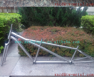 titanium mtb tandem bike frame light and cheap bike frame xacd made ti tandem bike frame with front fork