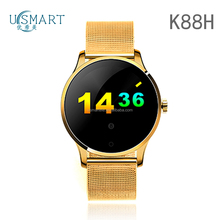 oem brand phone K88h smart watch watch phone round screen Smartwatch with heart rate usmart watch wifi online shopping philipine