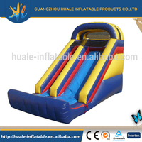 Funny giant inflatable slide for adult and kids play
