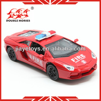 5012-6 police metal car 2013 for kids pull back car 1 32 scale diecast model cars