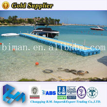 plastic dock with used passenger ships for sale