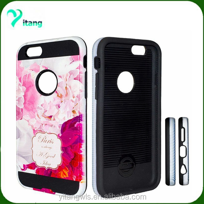 2 in 1 hybrid shockproof pattern design metal brushed case,welcome to order for Zte Zmax Z981case
