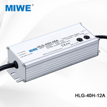 High Quality waterproof industrial switching power supply for led driver 40W 12V 3.33A HLG-40H-12A