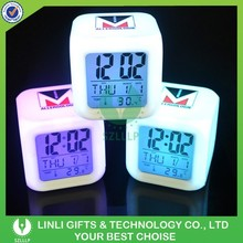 LED Color Changing Alarm Clock For Brand Promotional