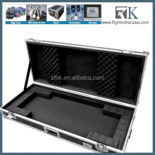 RK 61 Key Keyboard Flight Case with rolling wheels