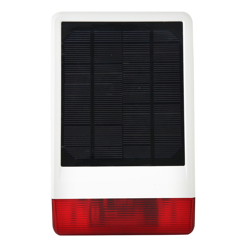 Fashionalble and Waterproof wireless Solar Power Siren SS-08W