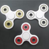 Alibaba China Factory Sell EDC Tri-Spinner Fidget Hand Spinner Toys for Adults Drop Shipping
