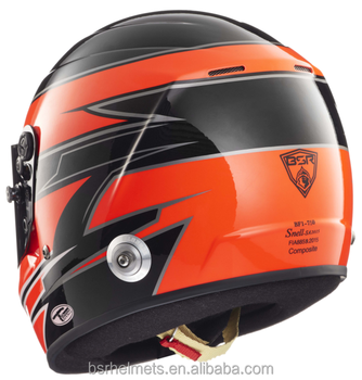 Full face racing helmet