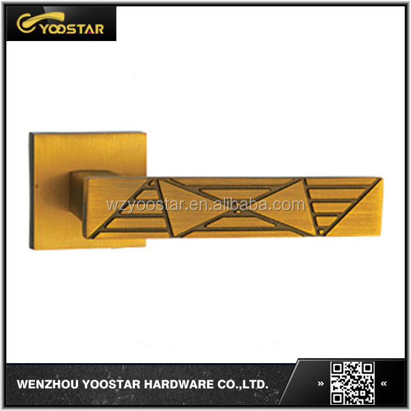 wenzhou hot sale practical zinc alloy door handle