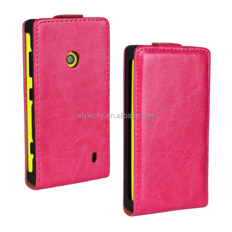 Protective Flip Luxury PU Leather Case For Nokia Lumia 620