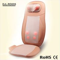 heated neck back and seat shiatsu portable massager for chair RD03A