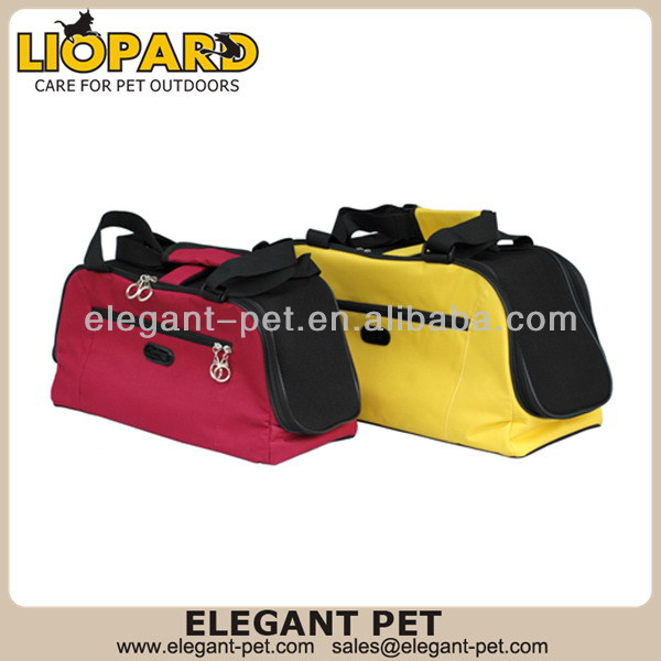 Modern hot sell leather pet carrier