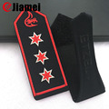 Custom country military uniform shoulder embroidered epaulet