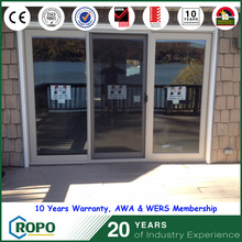 cheap plastic sliding doors, 3 panels sliding type doors with cheap price