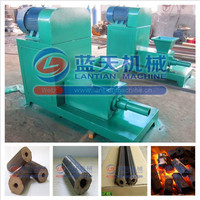 Large handling capacity rice hull charcoal briquette extruder machine