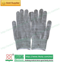 Health care products Tens electrodes conductive fabric gloves