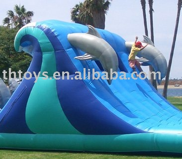 inflatable water slide, Christmas inflatables ,Xmas slides