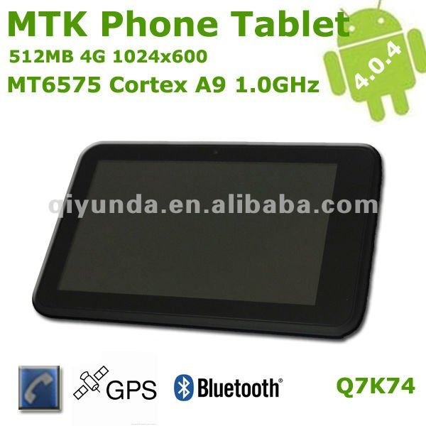 mtk mobile phone tab pc 7 inch MT6575
