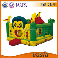 Direct Manufacture CE Approved Giant inflatable animal jumping bouncy castle
