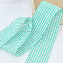 Hot sale plaid material european quality standard michaels ribbon