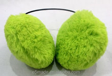 triple-color choice super thick pure color fashion and warm lovely earmuff