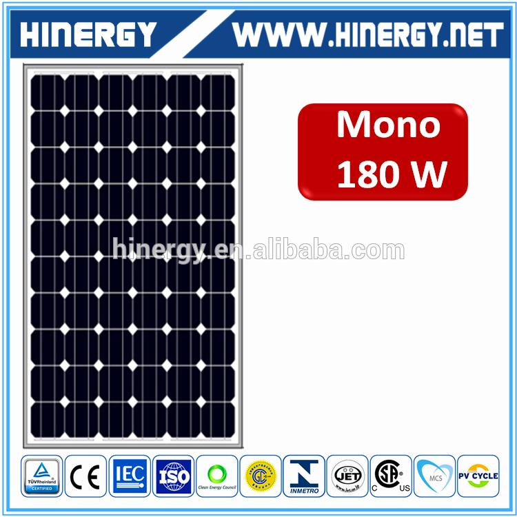 bluesun hot sale mono solar panel 180w low price 12v 180w panel solar roll 180watt solar panel