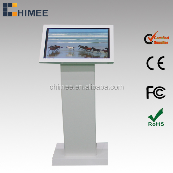 21.5inch multi touch screen table kiosk intel core i7 indoor use