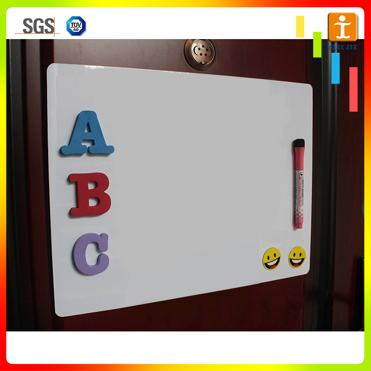 Dry erase note pad magnetic whiteboard wall sticker sheet