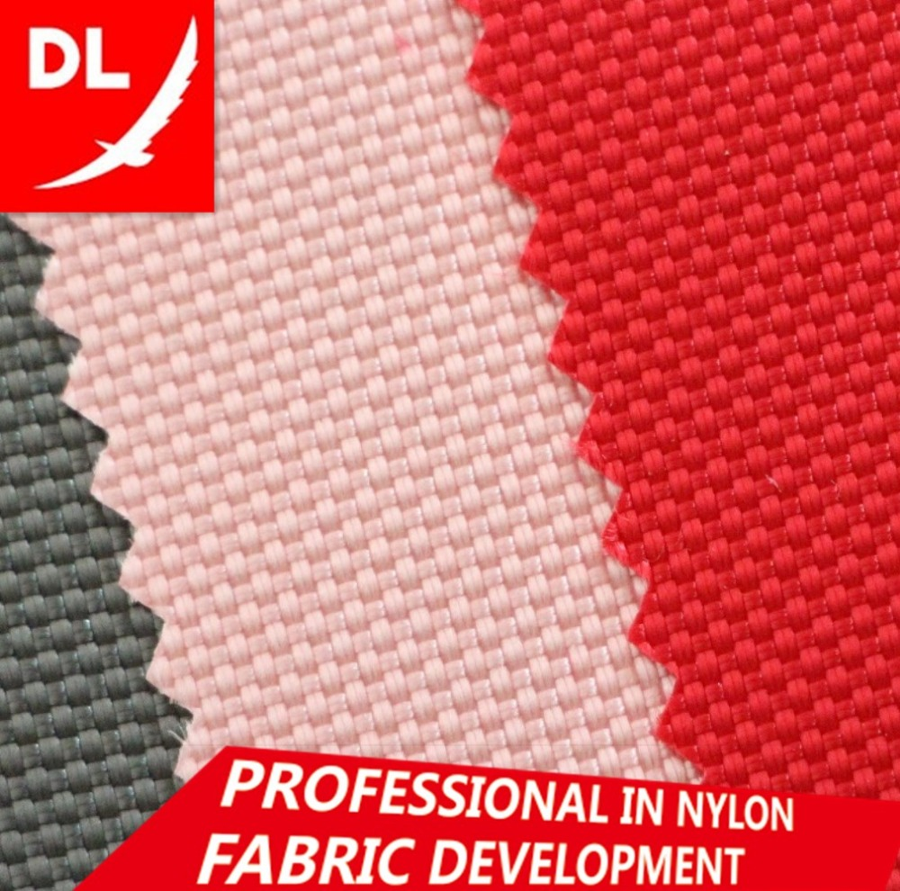 1680D 100% <strong>nylon</strong> oxford fabric double yarn PVC coating large quantity in stock many colors available
