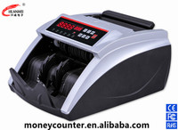 Intelligent Counter With Counterfeit Detection Banknote Counting Machine