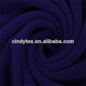 100d drapery soft anti pilling polyester knitted polar fleece fabric