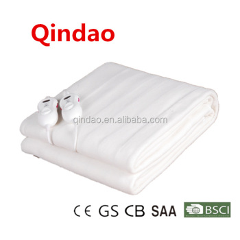wholesale washable fitted electric blanket with CE