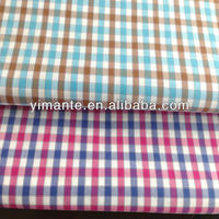 60S yarn dye cotton fabrics Italian designs excellent material 100% cotton fabric