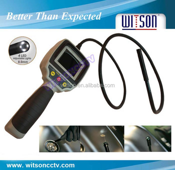 WITSON Video Portable Endoscope Camera with 2.4 inch HD LCD screen and 8.0mm camera head