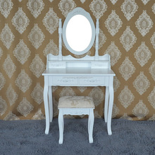 China wooden vanity dressing table with mirror canada with drawer bedroom furniture