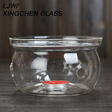 tealight candle use borosilicate glass teapot warmer stand