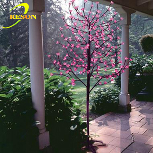 6' Cherry Blossom LED Lighted Artificial Tree Pink color