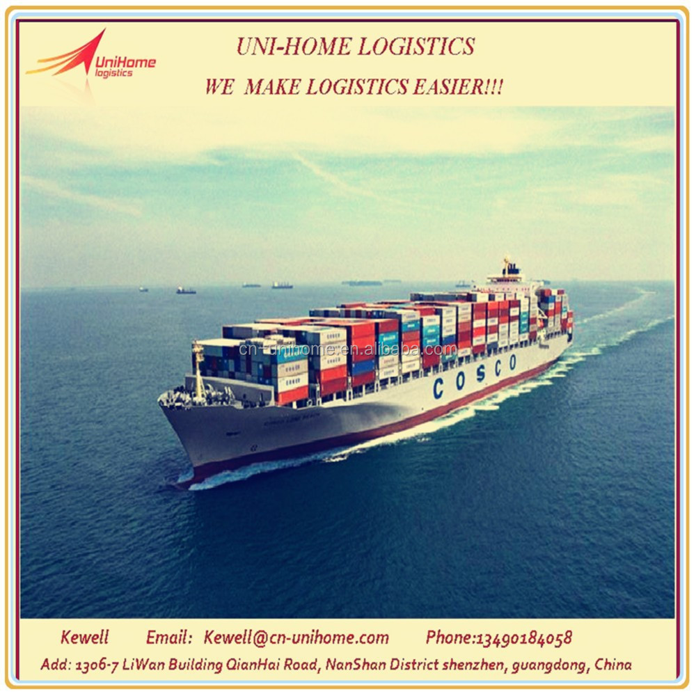 sea freight/shipping from guangzhou/foshan/zhongshan to Singapore