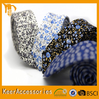 New collection custom printing silk tie famous brand necktie
