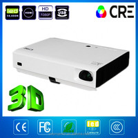 Cre X3000 dlp daylight outdoor building laser projector christmas 1080p portable 3d projector