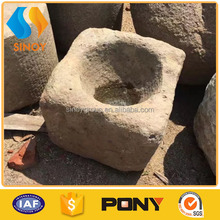 china antique square stone water trough