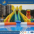 Large inflatable cartoon water park elephant slide with water swimming pool for water world