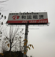 Widly used highway high power outdoor solar lighting signs