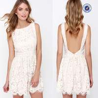 Alibaba China Taobao online shopping high fashion women lace sexy short open back summer dresses