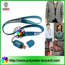 Promotional one direction lanyard usb flash drive