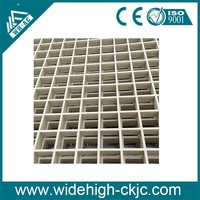 Slip and Age Resistant FRP Corrugated Grating