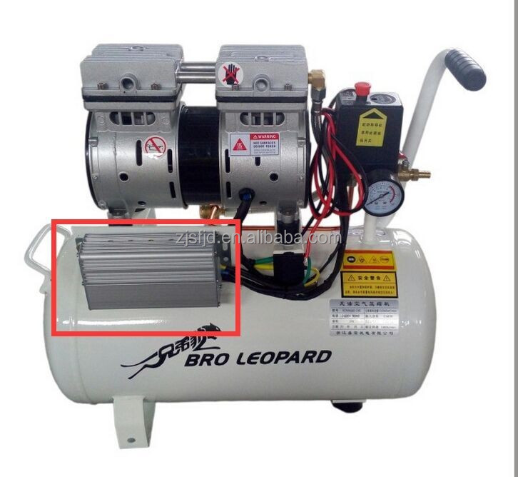 XDW600-9L Portable oil-free mute Air compressor for Carpenter 0.6KW 9L robotization 12v dc air conditioner compressor