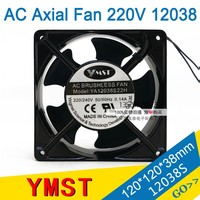 AC fan 12038 220V Cooling Fan Cabinet axial fan