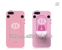 Original Japanese Ozaki 3D Animal Tongue Silicon Stand Snap Case For Iphone 5