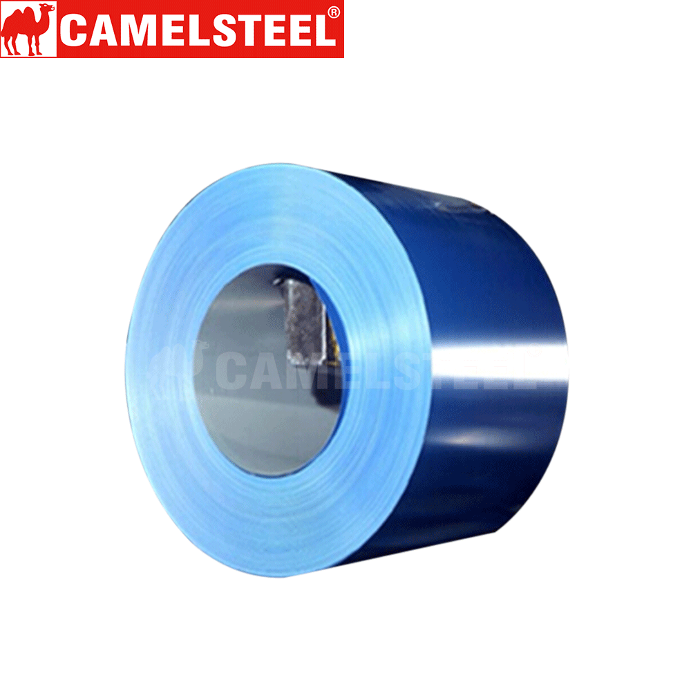 China first class color coated steel coil for roofing sheet